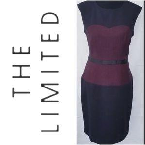 The Limited Coset Shape-Fitting Sheath Dress